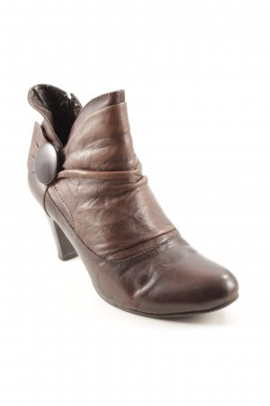 Caprice Reißverschluss-Stiefeletten bronzefarben Casual-Look