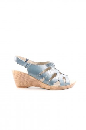 Caprice Strapped Sandals blue casual look