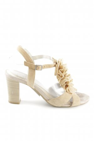 free shipping great quality so cheap Caprice Riemchen-Sandalen creme Business-Look