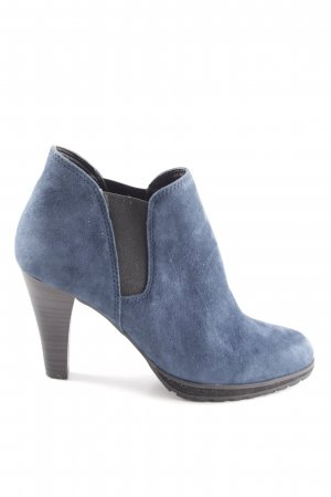 Caprice Slip-on Booties blue casual look