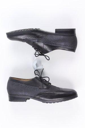 Caprice Schnürschuhe schwarz Größe 40