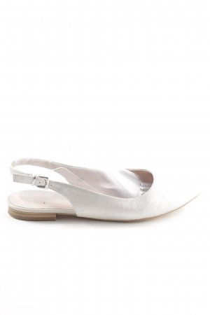Caprice Slingback Ballerinas white casual look