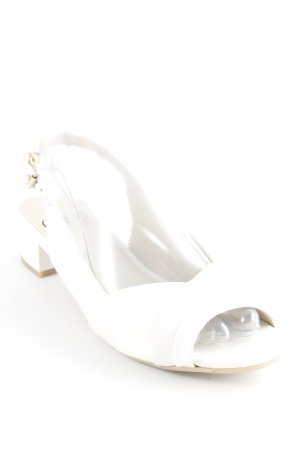 Caprice Slingback Pumps white classic style