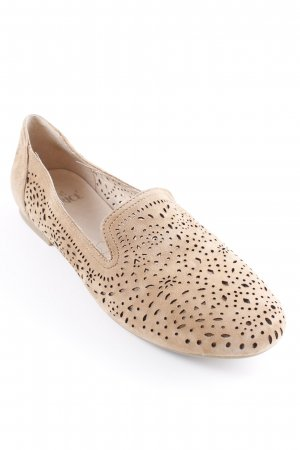 Caprice Slipper beige Business-Look