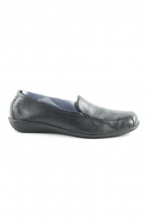Caprice Slipper schwarz Business-Look
