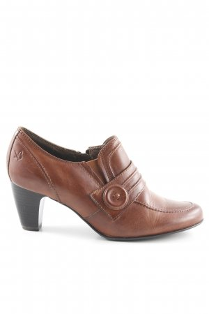 Caprice Loafers light brown simple style