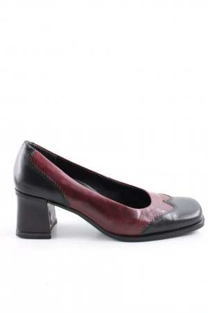 Caprice Loafers red-black casual look