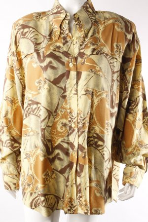 Caprice vintage blouse brown-yellow