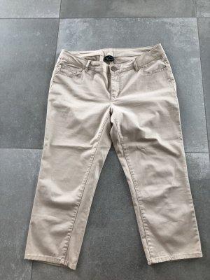Takko Pantalone Capri beige chiaro