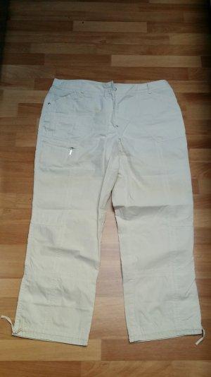 Caprihose 3/4 Hose in beige, Gr. 42