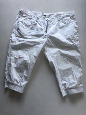 Twintip Pantalone Capri bianco