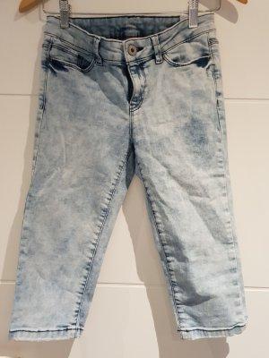 Pantalon capri bleu clair