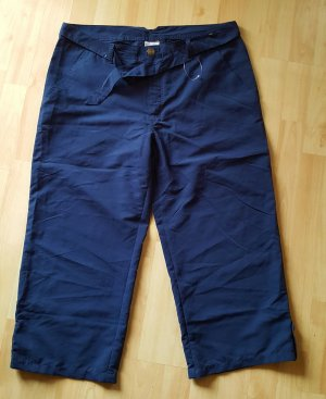Capris dark blue-blue mixture fibre