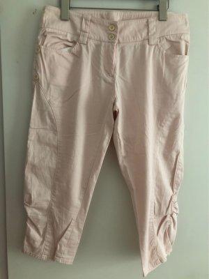 Germano Zama Pantalone Capri rosa chiaro
