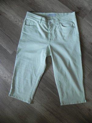 Angels Pantalone Capri verde pallido Cotone