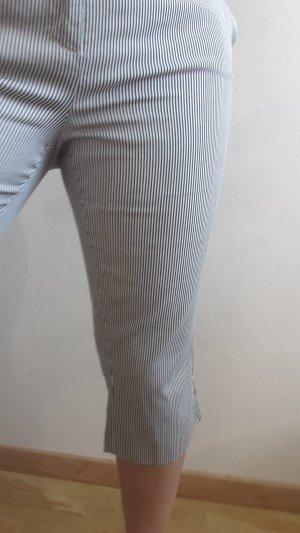 Esprit Pantalón capri blanco-azul oscuro