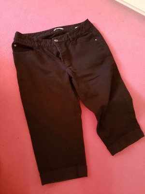 3 Suisses Capris black cotton