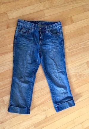 Edc Esprit Jeans 3/4 bleu coton