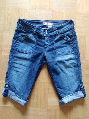H&M Capris dark blue