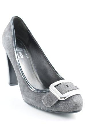 Car Shoe High Heels dunkelgrau klassischer Stil