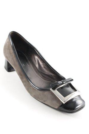 Car Shoe High Heels black-grey brown business style