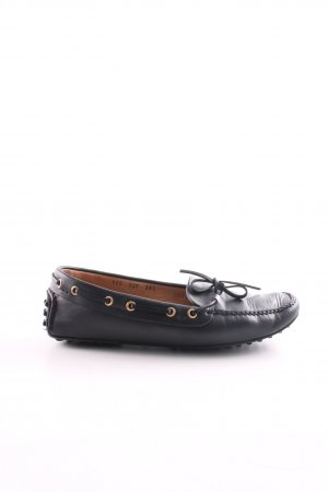 Car Shoe Slip-on Shoes black casual look
