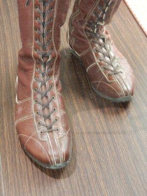 Car Shoe, Stiefel mit Schnürelemt, Gr. 40