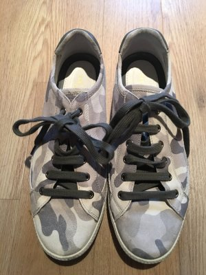 Car Shoes Camouflage weiss&grau