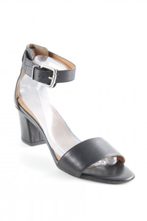 Cara Strapped Sandals black-light brown business style