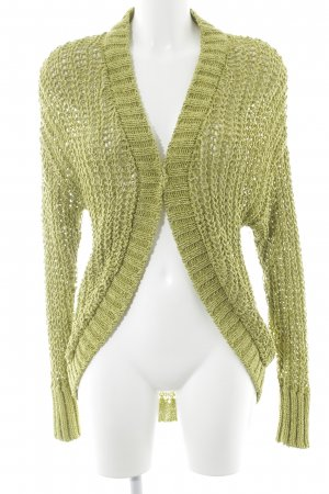 Caractère Crochet Cardigan meadow green casual look