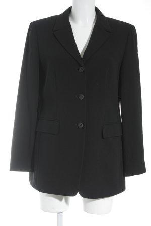 Caractère Long-Blazer schwarz Business-Look