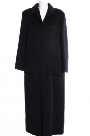 Caractère Wool Coat black business style