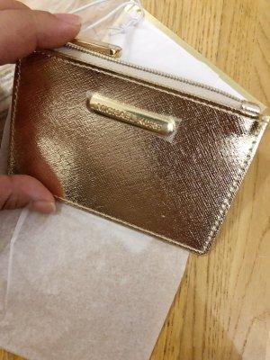 Michael Kors Custodie portacarte oro