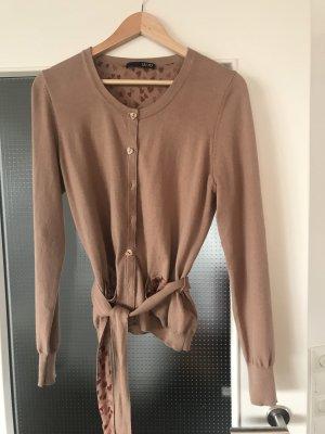 Liu jo Knitted Vest camel
