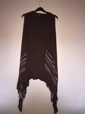 Takko Cardigan black brown-dark brown