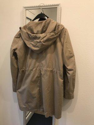 Vero Moda Abrigo con capucha beige claro