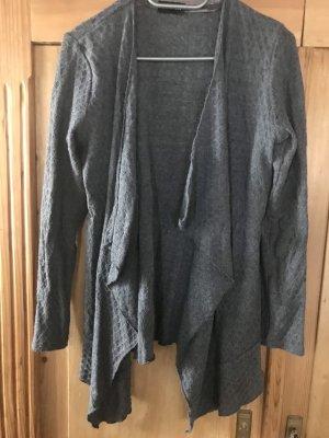 Taifun Cardigan in maglia grigio