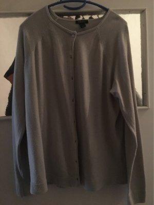 Amisu Cardigan in maglia grigio chiaro