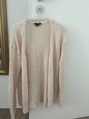H&M Divided Knitted Cardigan pink