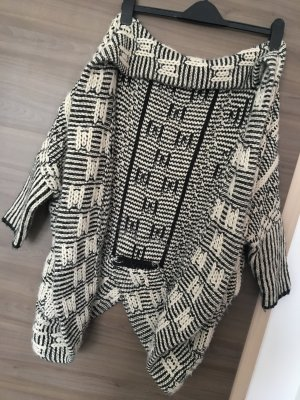 Primark Veste chemise noir-crème