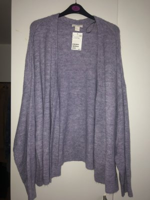 H&M Cardigan all'uncinetto viola