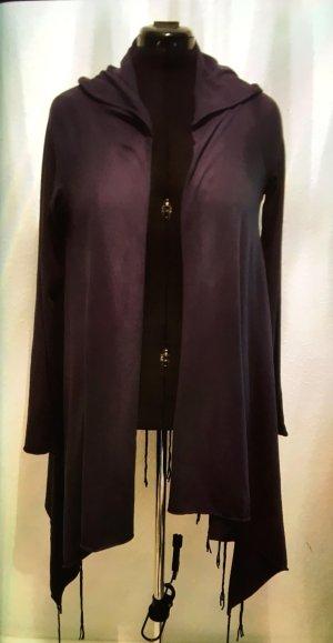 Cardigan aus dunkelblauer Baumwolle