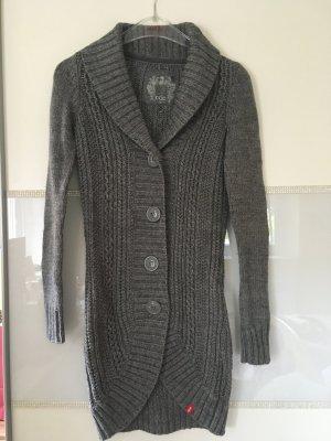 Cardigan aus Strick von edc in grau Größe XS