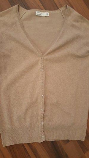 Cardigan beige der Marke ZARA