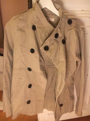 Cardigan beige , halblang