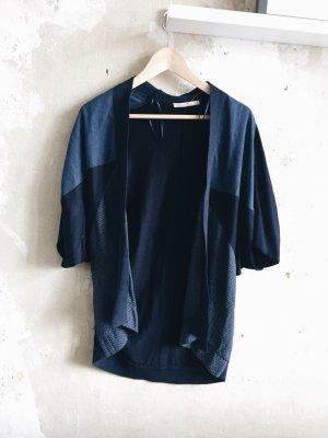 Cardigan Blau gemustert von Zara