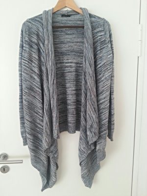 Cardigan blau-schwarz-weiß von Moda international
