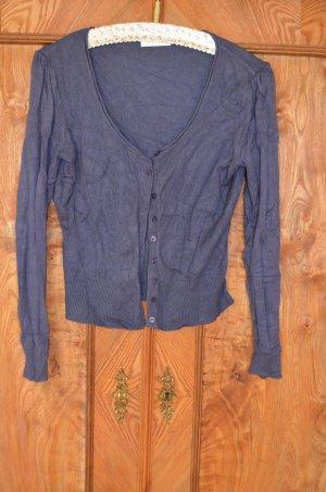 Cardigan blue velvet