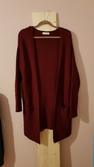 24Colours Knitted Cardigan carmine-bordeaux