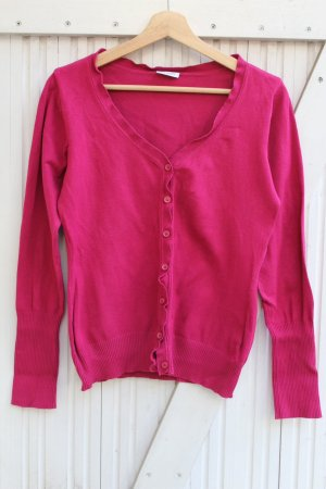 Avanti Cardigan raspberry-red-magenta
